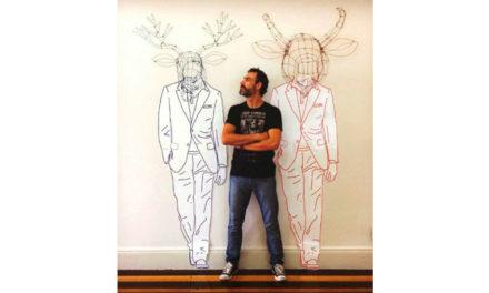 Conectadas com o artista plástico Roberto Romero.