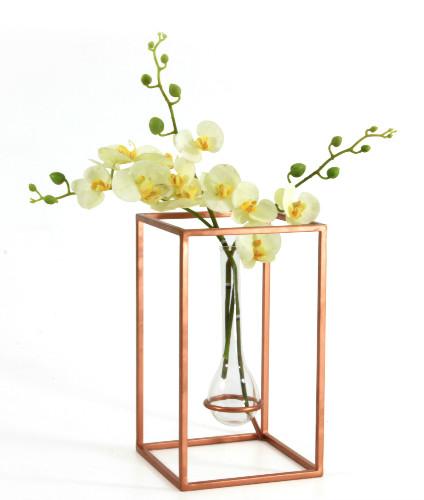 Vaso Shape em cobre, da LZ Studio