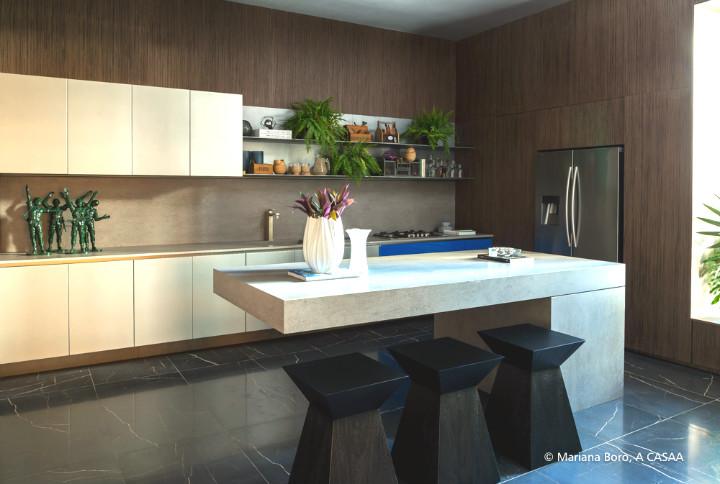cozinha do ambiente da Studio CasaDesign no Casa cor Baalneario Camboriu