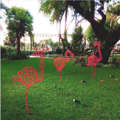flamingos de roberto romero