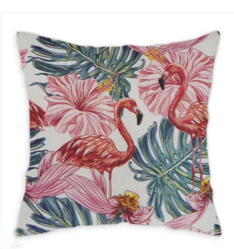 almofada de Flamingo da Leroy Merlin