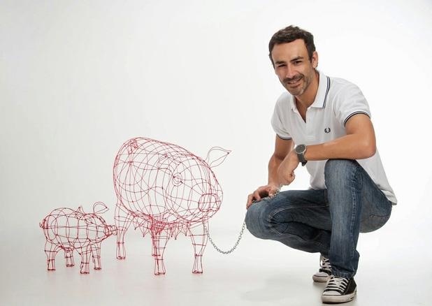 artista plastico Roberto Romero
