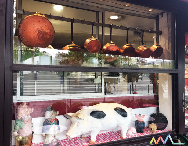 Ao pé do Porco, restaurante Au Pied de Cochon em Paris no blog da Conexão Décor VITRINE