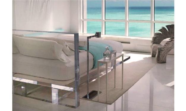 Acrílico, modernidade e sofisticação na decoração.