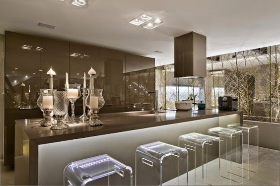 Acrilico modernidade e sofistica o na decora o no blog for Show me beautiful kitchens