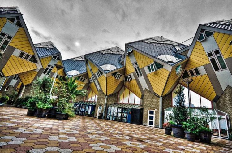 Cubic houses, construções diferentes na holanda