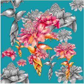 Floral, por Barbara Kramer