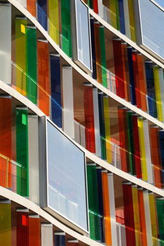 Edifícios coloridos pelo mundo.