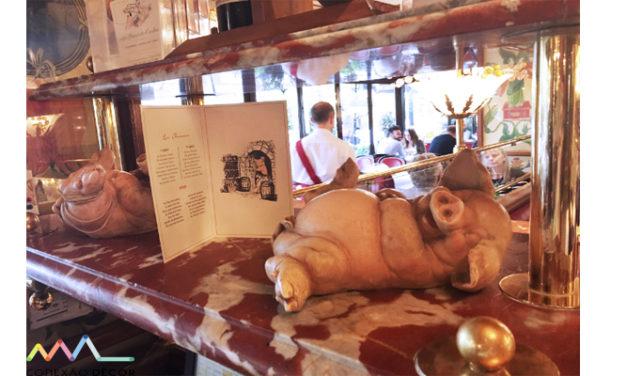 Ao pé do Porco em Paris !