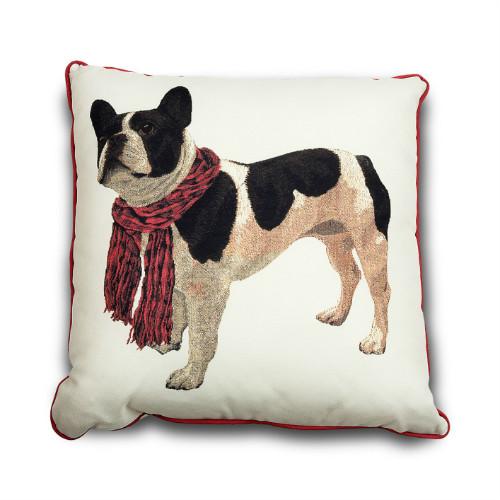 Almofada Bulldog, encontrada na Cecília Dale
