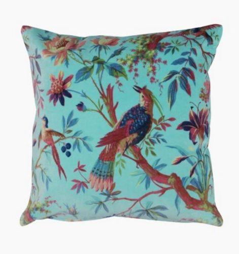 Almofada Pássaro Monet chinoiserie, na Collector