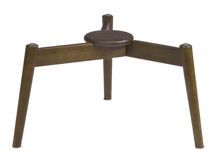 base de mesa de centro Proa, assinada pelo Estúdio Oppa