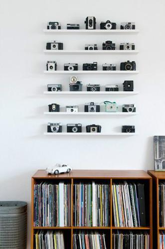 Cameras decoração Vintage