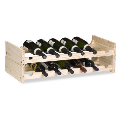 Porta garrafas de vinho, do Meu Móvel de Madeira