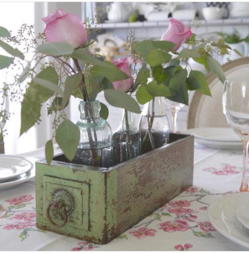 gaveta para vaso na cozinha