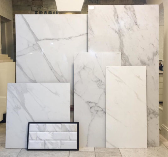 Marmores Clacata - Carrara - Statuario em diversos tamanhos, na Euroville.