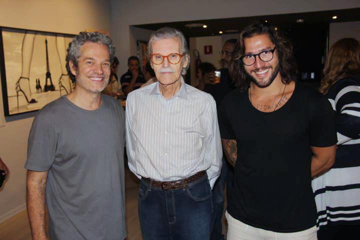 Tres gerações de fotógrafos: B.Gatti, Joaquim Nabuco e P Garcez