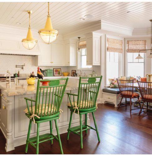 Cozinha colorida de Alison Kandler
