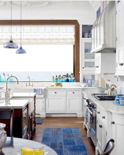 cozinha de verdade azul
