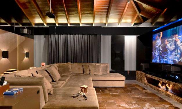 Dicas e inspiração para o seu cinema em casa