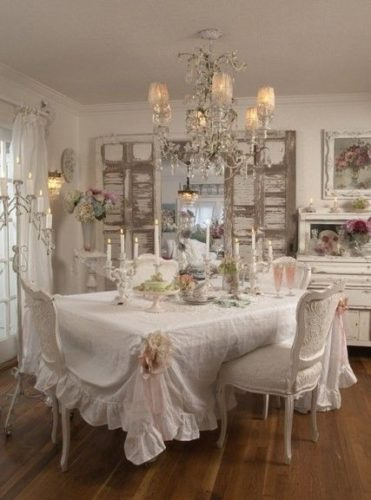 O encantador estilo shabby chic na decora o conexao decor for Sala de estar shabby chic
