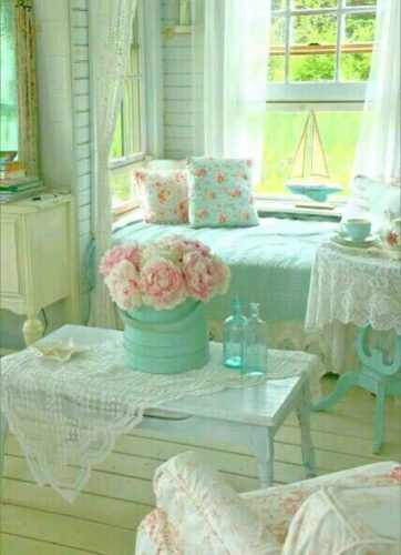 o encantador estilo shabby chic na decora o conexao decor. Black Bedroom Furniture Sets. Home Design Ideas