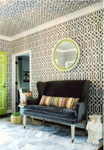 teto e paredes com cobogó