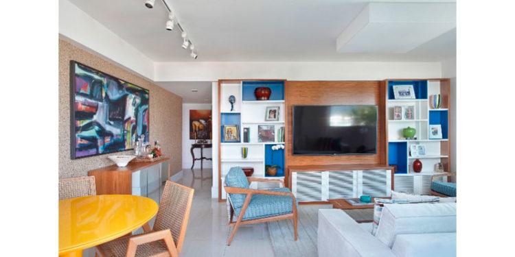 Dessa vez, A3 colore apartamento na Barra
