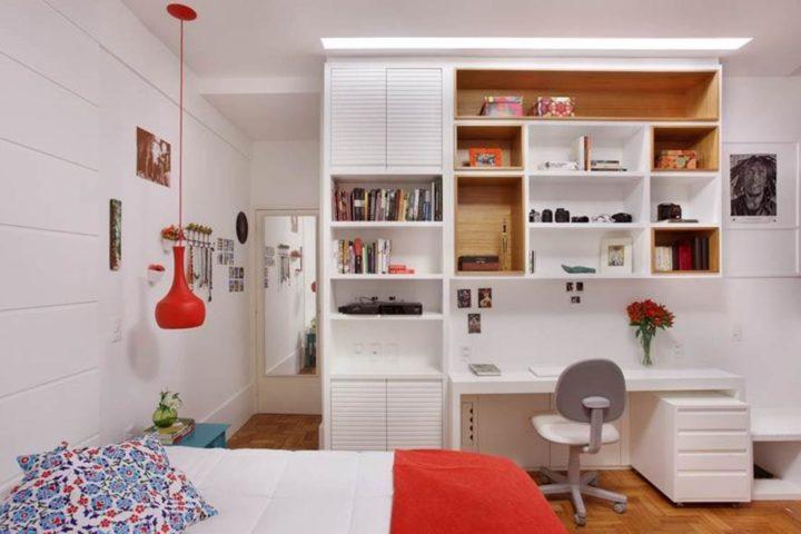 quarto no projeto a3 interiores