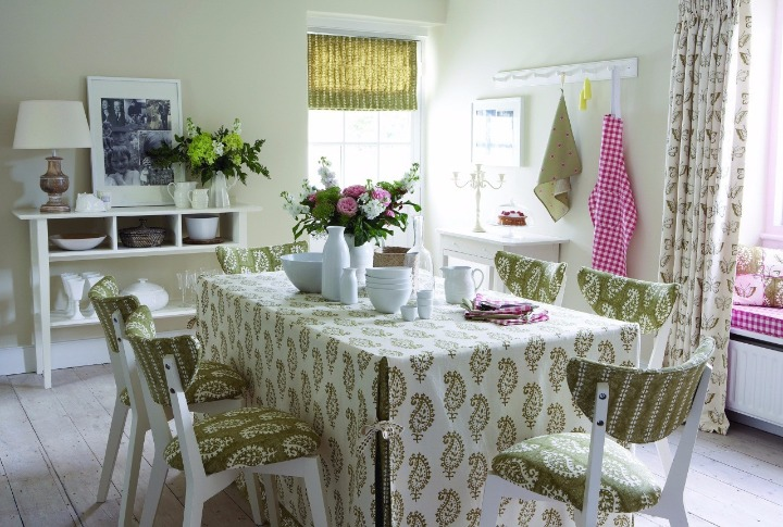 sala de jantar cottage
