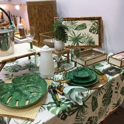 ABCasa feira dos sonhos!! Decoração Tropical na mesa