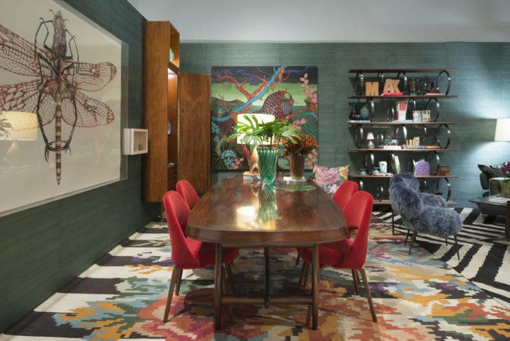 Ambiente de Mak Interiores para Modernos&Eternos. Foto: Inès Anitch