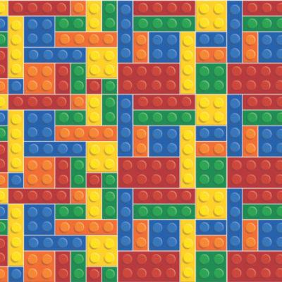 12 ideias baratinhas e rápidas faça você mesma ! Papel adesivo contact imitando lego.