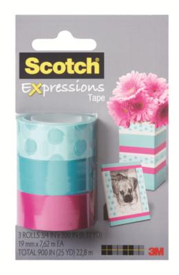12 ideias baratinhas e rápidas faça você mesma ! Kit de fita adesivas coloridas.