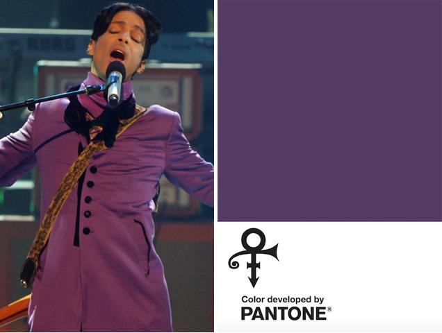 Pantone anuncia novo tom de roxo em homenagem ao cantor Prince. Love Symbol #2