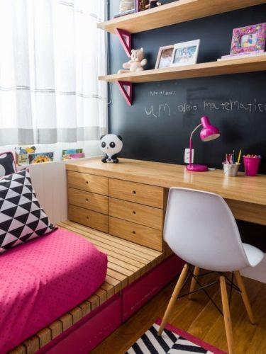 26 quartos estilosos para as meninas conexao decor for Deco quarto