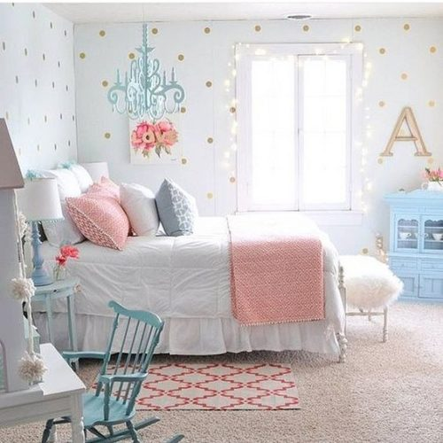 Little Girls Bedroom Colors New York Bedroom Curtains Small Bedroom Chairs For Adults Home Decor Bedroom: 26 Quartos Estilosos Para As Meninas