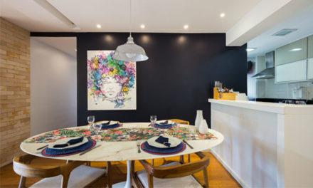 Apartamento atual e cheio de charme, por Paula Werneck