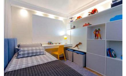 Criatividade para quarto pequeno!