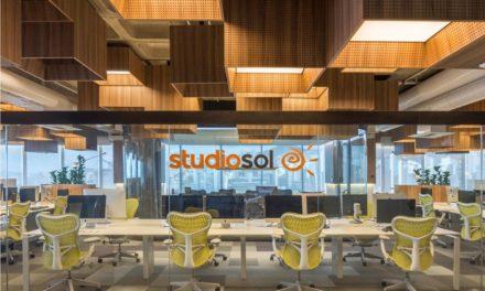 Studio Sol, cheio de bossa, pela Todos Arquitetura