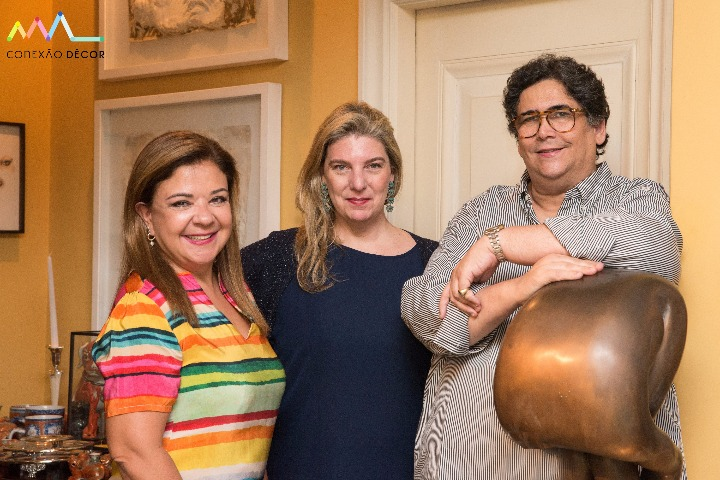 Liliane Abreu, Celina Mello Franco e Antonio Neves da Rocha