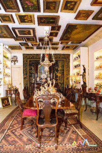 Conectadas com Antonio Neves da Rocha e sua casa. Sala de jantar da casa do Antonio Neves da Rocha.