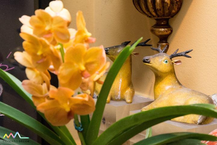 Detalhes da decoração do apartamento do Antonio Neves da Rocha