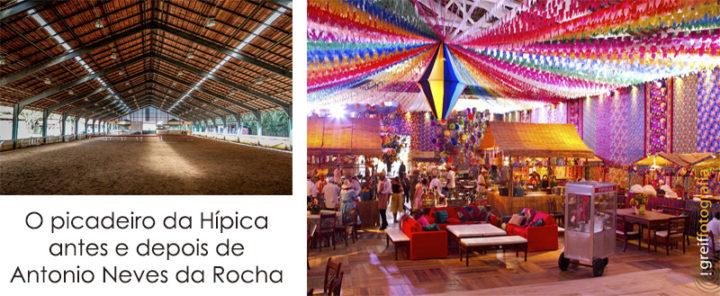 festa de Antonio Neves da Rocha na Hipica do Rio