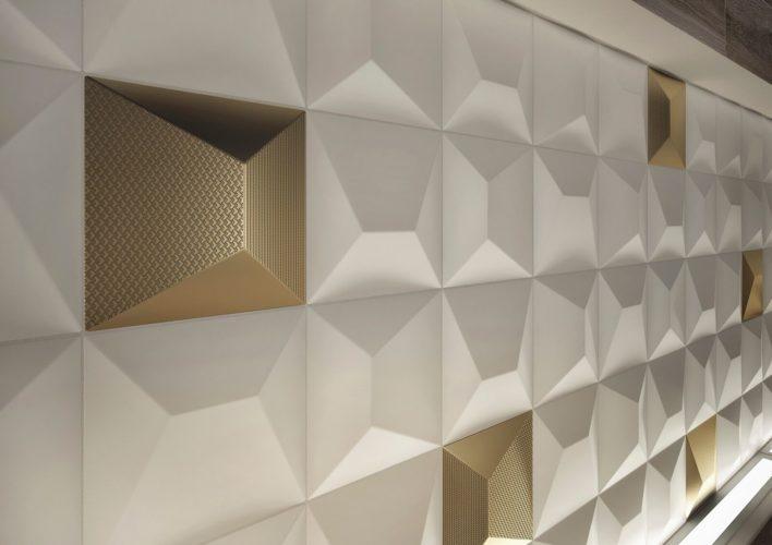 Linhas de revestimentos apostam em design oriental e clean. Linha Shapes