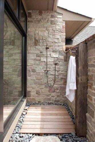 Projeto verão, 16 inspirações de chuveiro de jardim na decoração.