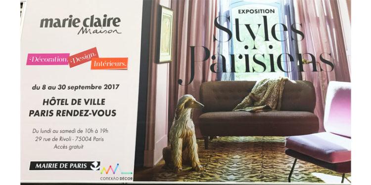 O charme da Mostra Estilos Parisienses