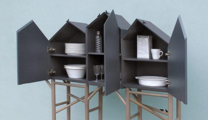 A linha de mobiliário Pallafit, do designer Marcantonio para Seletti