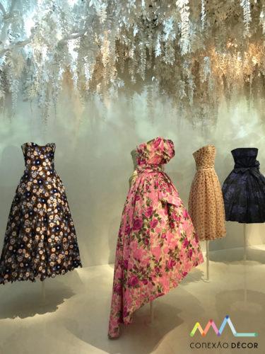 jardins de dior na sua exposição