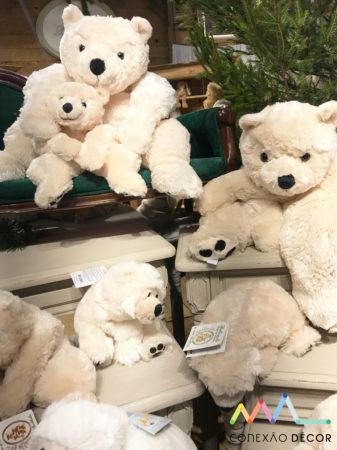 ursos de pelucia na Maison&objet